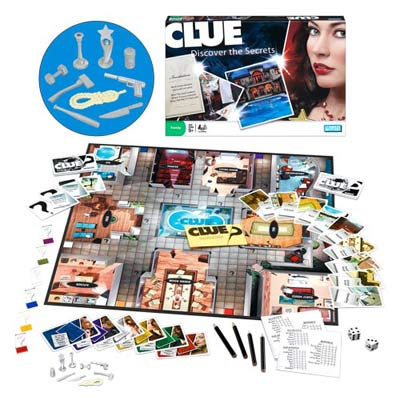 Clue Reinvention - Board Game