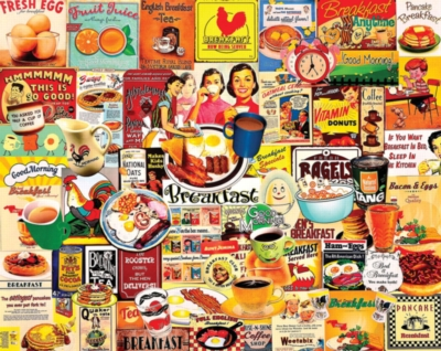 Breakfast - 1000pc Jigsaw Puzzle by White Mountain