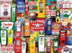 Gas Pumps - 550pc Jigsaw Puzzle by White Mountain