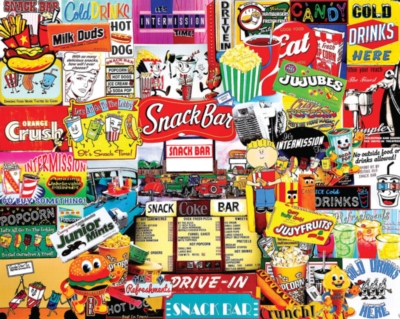 Snack Bar - 1000pc Jigsaw Puzzle by White Mountain