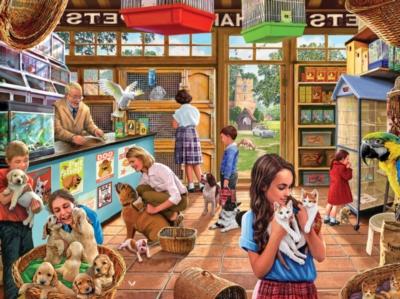 Pet Shop - 1000pc Jigsaw Puzzle by White Mountain