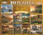 Terry Redlin: 10 x 100,300,or 500pc Jigsaw Puzzle Assortment by White Mountain