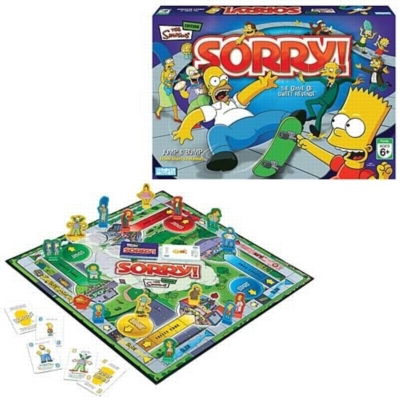Sorry!: Simpsons Edition - Board Game