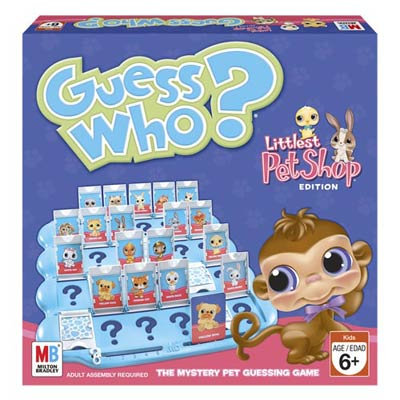 Guess Who Littlest Pet Shop - Kids Game