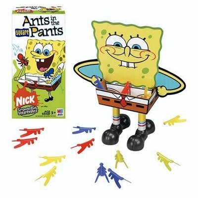 Ants in the Square Pants: Nickelodeon SpongeBob SquarePants Edition - Kids Game