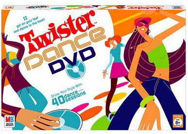 Twister Dance DVD Edition - Party Game