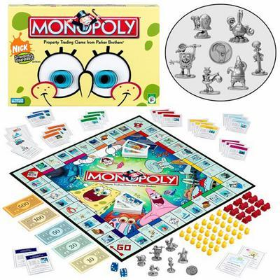 Monopoly: Nickelodeon SpongeBob Edition - Board Game