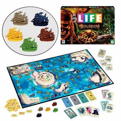 The Game of Life: Pirates of the Caribbean Edition - Board Game