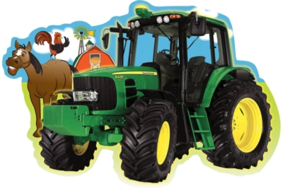 John Deere: Plowing Through - 36pc Floor Jigsaw Puzzle By Masterpieces