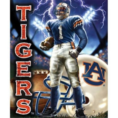 Collegiate Football - Auburn - 100pc Jigsaw Puzzle Pouch by MasterPieces