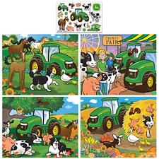 John Deere 4-Pack Puzzles - 100pc Jigsaw Puzzle by MasterPieces