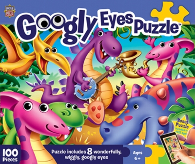 Dinosaurs - 100pc Jigsaw Puzzle by MasterPieces
