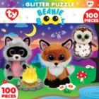 TY: Campfire Club - 100pc Glitter Jigsaw Puzzle By Masterpieces