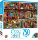 Once Upon a Shelf: Treasured History - 750pc Jigsaw Puzzle By Masterpieces