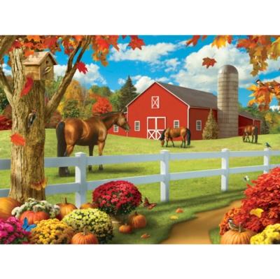 Memory Lane: Rolling Pastures - 300pc EZ Grip Jigsaw Puzzle By Masterpieces