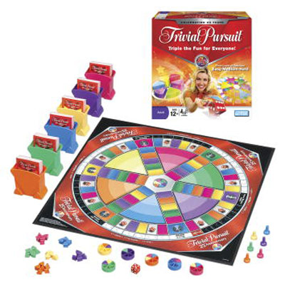 Trivial Pursuit 25th Anniversary Edition - Board Game