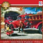Hometown: Firehouse Dreams - 1000pc Jigsaw Puzzle By Masterpieces