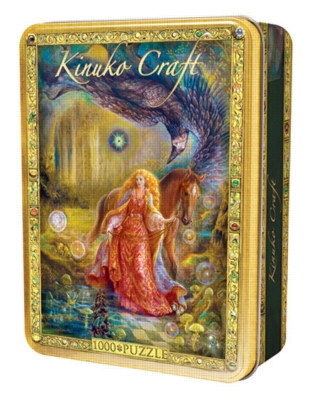 Kinuko Craft: Daughter of Exile - 1000pc Jigsaw in a Tin Puzzle By Masterpieces
