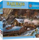 Railways: When Gold Ran the Rails - 1000pc Jigsaw Puzzle By Masterpieces