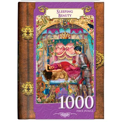 Book Box: Sleeping Beauty - 1000pc Jigsaw Puzzle By Masterpieces