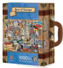 Best of Europe - 1000pc Suitcase Jigsaw Puzzle By Masterpieces