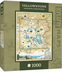 Xplorer: Yellowstone - 1000pc Jigsaw Puzzle By Masterpieces