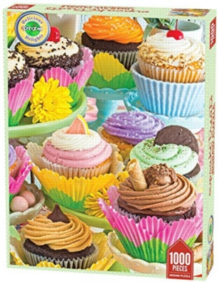 Cupcake Treats - 1000pc Jigsaw Puzzle by Springbok