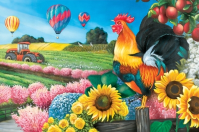 Applelane Farms -pc Art - 1000pc Jigsaw Puzzle by Lafayette Puzzle Factory
