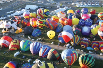 Colorful Hot Air Balloons - Balloons Galore - 1000pc Jigsaw Puzzle by Lafayette Puzzle Factory