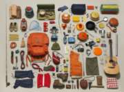 Camping Equipment - 500pc Jigsaw Puzzle by New York Puzzle Company