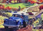 The Road Home - 1950 Chevy 3100 pickup - 1000pc Jigsaw Puzzle by New York Puzzle Company