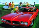 Need a Ride? - 1970 Pontiac GTO - 500pc Jigsaw Puzzle by New York Puzzle Company
