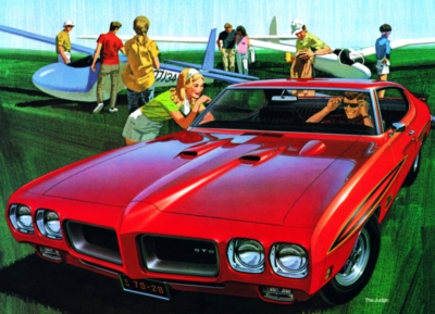 Need a Ride? - 1970 Pontiac GTO - 500pc Jigsaw Puzzle by New York Puzzle Company