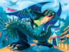 Harry Potter: Battle with the Dragon - 1000pc Jigsaw Puzzle by New York Puzzle Company