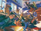 Harry Potter: Pixie Mayhem - 100pc Mini Jigsaw Puzzle by New York Puzzle Company