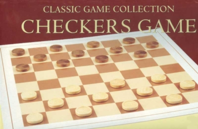 Wood Checkers Set - Board Game