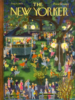 Town Square Dance - 1000pc Jigsaw Puzzle by New York Puzzle Company