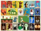 Animal Collage - 300pc Jigsaw Puzzle by New York Puzzle Company