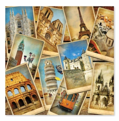 Postcards from Europe - 1000pc Jigsaw Puzzle by Melissa & Doug