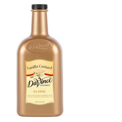 Davinci Gourmet Sauce: Vanilla Custard - 64oz Plastic Bottle