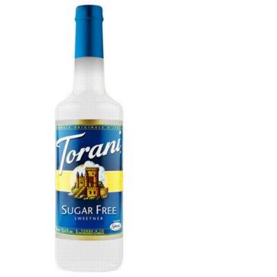 Torani Sugar Free Sweetener - 750ml Plastic Bottle