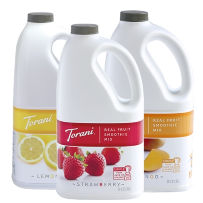 Torani Real Fruit Smoothies - 64oz Jug Assorted Case