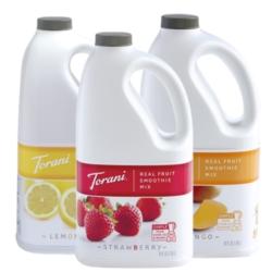 Torani Real Fruit Smoothies - 64oz Jug Case