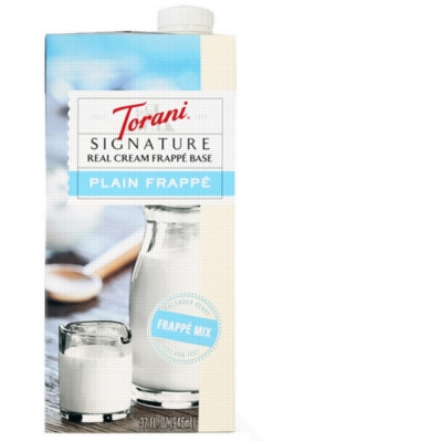 Torani Real Cream Frappé Base - 1.5L Carton