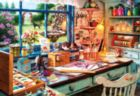 Art & Photo: Grandma's Craft Shed - 2000pc Jigsaw Puzzle by Buffalo Games