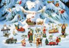 Jingle Bell Teddy and Friends - 300pc Jigsaw Puzzle by Buffalo Games