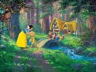 James Coleman: Snow White - A Sweet Goodbye - 550pc Jigsaw Puzzle by Ceaco