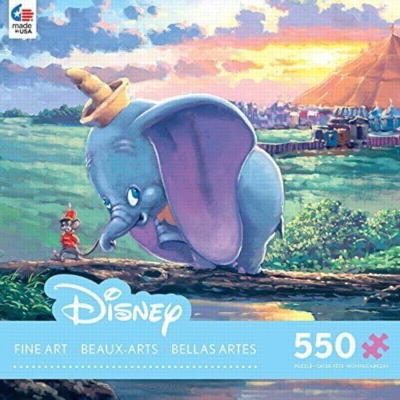 James Coleman: Dumbo - Unlikely Friends - 550pc Jigsaw Puzzle by Ceaco