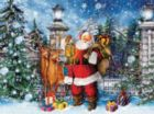 Santa at the Gate - 550pc Jigsaw Puzzle by Ceaco