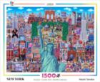Naoki Tanaka: New York - 1500pc Jigsaw Puzzle by Ceaco
